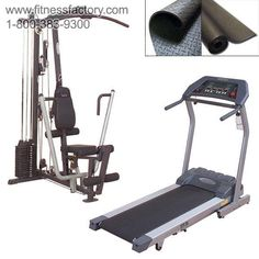 Body-Solid G1S Gym and Treadmill Combo   Everything you need to get in shape! Save $600 when you buy this package instead of individual items.
