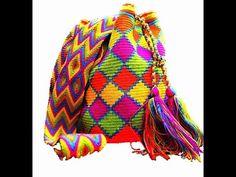 Crochet tapestry bag pattern 2 | حقائب كروشيه تابسترى بالباترون الجزء الثانى - YouTube