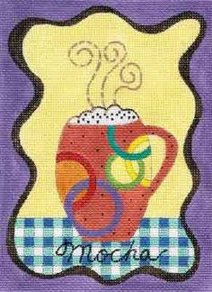 Barbara Elmore needlepoint design from Sundance Designs