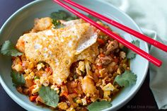 Paleo Cauliflower Fried Rice Indonesian Style (Nasi Goreng)