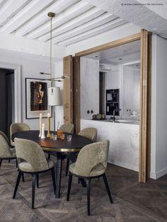 Sophisticated Parisian apartment in grey | PUFIK. Beautiful Interiors. Online Magazine