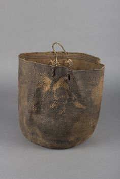 unknown Tlingit artist (Tlingit), Basket 1875/1900 , spruce root, Museum Purchase:  Indian Collection Subscription Fund, Rasmussen Collection of Northwest Coast Indian Art, no known copyright restrictions 48.3.775