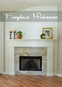 Fireplace- The Reveal - Little Red Brick House