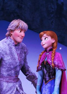 Disney Frozen Anna and Kristoff #DisneyFrozen