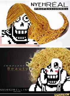 THE GREAT PAPYRUS IS ABSOLUTELY FABULOUS <<< I need that hair right now!