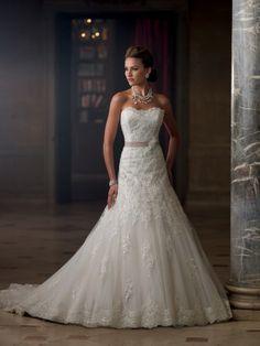 Style No. 213261»David Tutera for Mon Cheri #davidtutera #weddingdress #bridal #moncheri