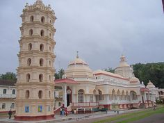 The Mangeshi temple is situated 22 kms from Panaji.
