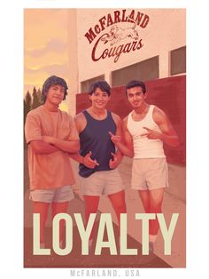 Disney's McFarland, USA Posters designed by Acclaimed Artist Fernando Reza!