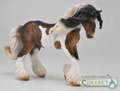 CollectA horse Tinker Stallion Piebald www.minizoo.com.au
