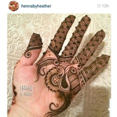 The design from my ebook Zari done buy Heather Caunt-Nulton . So thankful to her for supporting me and promoting my work. In case you want the book it's available at artisticadornment.com . It's full of latest style in Gulf henna.  http://artisticadornment.com/henna_tattoo_supplies/henna-design-e-books/zari-arabic-gulf-henna-designs-by-devaky-s-dharan