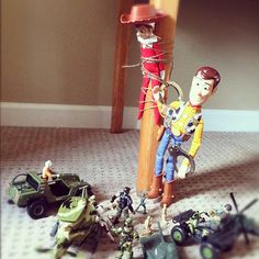 "elf on a shelf ideas | Good job recovering my hat guys. I'll take it from here."" ~Sheriff ..."
