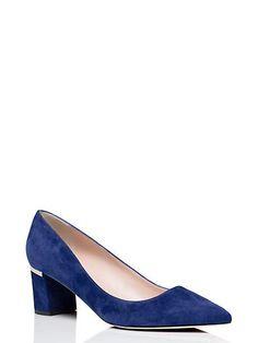 milan too heels, lapis blue