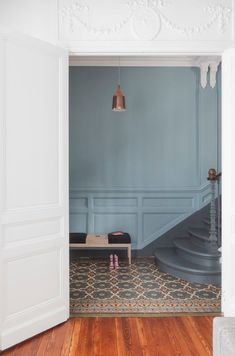 Denim Drift, Colour of the Year 2017 by Dulux. A blue-grey shade, perfect for any interior.