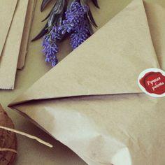 Упаковка печенья БРАУНИ ручной работы. Brownie cookies in bags=))