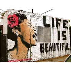 Billie Holiday, Life Is Beautiful Mural