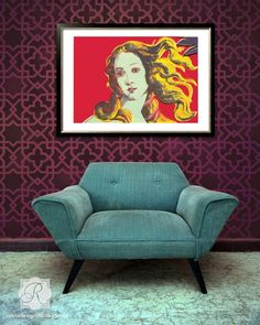 Moroccan Wall & Furniture Stencils | Tangier Lattice Moroccan Stencil | Royal Design Studio