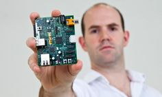 Raspberry Pi is a credit card-sized barebones computer that uses a smartphone-like ARM processor to provide basic & extensible computing platform. It has USB ports for keyboard & mouse, 1 Ethernet port, a SD card slot, & HDMI port for connecting to monitor or TV. It runs a variant of Linux. Costing ~£35, the Raspberry Pi has lowered the entry level for access to a programmable computer geared for learning how to code & hacking projects, eg build your own media player or retro video game…