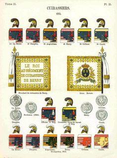 Cuirassiers 1815 Uniformes de I'Armee Francaise 1690-1894