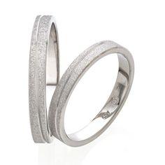 Βέρες γάμου Stergiadis λευκόχρυσο Κ14 Stylish Rings, Wedding Rings, Jewels, Engagement Rings, Weddings, Rings, Enagement Rings, Jewerly, Wedding