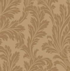 Acanthus Gold (33823) - Albany Wallpapers - A Acanthus floral trail on a heavy duty Italian vinyl, showing in Gold. Other colour ways available. Please request a sample for true colour match.
