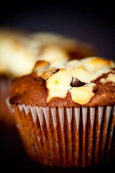 Black Bottom Cupcakes With Goat Cheese