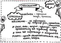 English Resources, School Notes, Study Motivation, Poland, Math Equations, Education, Literatura, School Grades, Motivation To Study