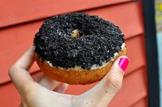 Dreamy Oreo Donut from Mighty-O Donuts in Seattle.