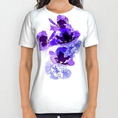 Blue velvet All Over Print Shirt by Okopipi Design | Society6