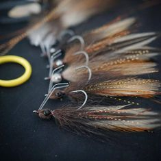 Workin on a batch of Bushwood's for the mastermind who developed the pattern Fishing Tips, Fly Fishing, Fly Tying Tools, Saltwater Flies, Fly Tying Patterns, Bass, Dinner, Classic, Happy