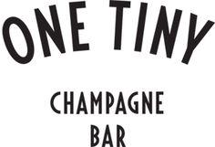One Tiny Champagne Bar,  Helsinki - seitinohuet iltapäiväkännit