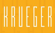 Krueger free fonts of year 2013  #freefonts #bestof2013 #fonts