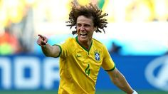David Luiz, haircare commercial on the world stage. #WorldCup