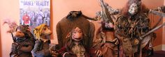The cast of puppets from Toby Froud's Lessons Learned not technically stop motion but still freaking awesome