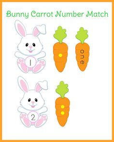 Bunny Carrot Number Match