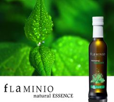 Olio Flaminio Natural Essence Mint ...  extra virgin olive oil + natural extracts of mint good with cucumbers, potatoes, grilled vegetables,  but also with fish or strong flavor meat, such as lamb and duck ...  which may be other combinations?