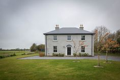 mckenna + associates - Modern Farmhouse Design - Full service Architectural Firm based in Trim Meath. Two Storey House Plans, 2 Storey House Design, Modern Farmhouse Design, Modern Farmhouse Exterior, House Layout Plans, House Layouts, Architect House, Architect Design, House Designs Ireland