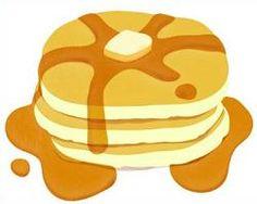 stacks of pancake for breakfast pinterest pancakes rh pinterest com pancake clip art banners free pancake clip art black and white