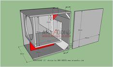 15 Inch Subwoofer Box, Diy Subwoofer, Subwoofer Box Design, Speaker Box Design, Sub Box Design, Audio Amplifier, Speakers, Loudspeaker, Home Theater