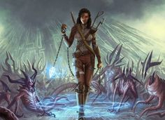 Spawnbinder Mage - MtG Art from Oath of the Gatewatch
