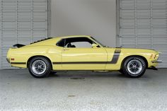 1970 Ford Mustang Boss 302 in Grabber Yellow
