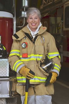Inspiring! Andrea Peterson, 68-Year-Old Firefighter, On Her Path To Following Her Childhood Dream
