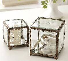 Glass Display Box #potterybarn
