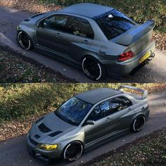 Functional widebody Evo 9
