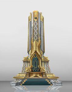 Dwarf concept by park eunji on ArtStation. Fantasy City, Fantasy Castle, Fantasy Places, Fantasy World, Landscape Concept, Fantasy Landscape, Environment Concept Art, Environment Design, Dwarven City