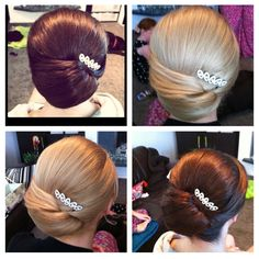 BRIDESMAIDS HAIR?  A hair comb can really complete an upstyle