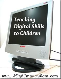 Teaching Kids Basic Computer Skills and Digital Safety Excellent resources for… Teaching Computer Skills, Computer Teacher, Teaching Computers, School Computers, Computer Lessons, Computer Basics, Computer Class, Technology Lessons, Teaching Technology