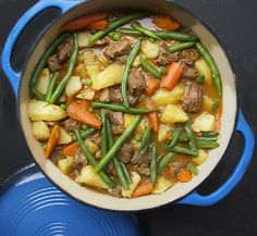 Here's a recipe for perfect lamb stew with fresh healthy spring vegetables - a wonderful one pot dinner for any occasion.