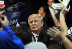 Donald Trump Photos Photos - Republican Presidential nominee Donald Trump greets…