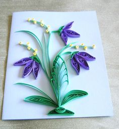 Quilled Card for any occasion