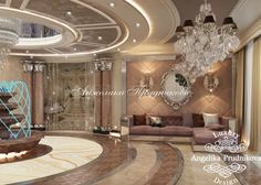 Mansion interior has the style of Art Deco, filled with luxurious and ornate design elements, making it just gorgeous. The festive mood is created by the light and the plenty abundance of crystal. True connoisseurs of luxury in this house will feel at eas House Design, House, Home, Mansion Interior, Luxury Living, House Interior, Mansions Luxury, Home Interior Design, Luxury Interior